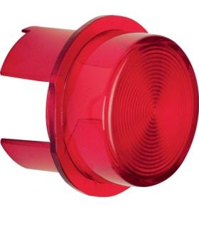 Akcesoria osprzęt Klosz do sygnalizatora świetlnego E10, czerwony przezroczysty Berker 1281