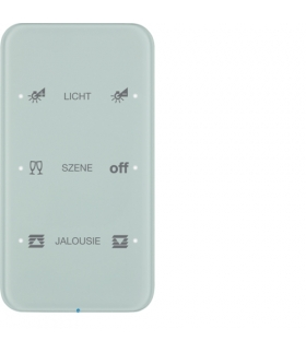 R.1 Sensor dotykowy 3-krotny konfigurowalny,  szkło,  biały