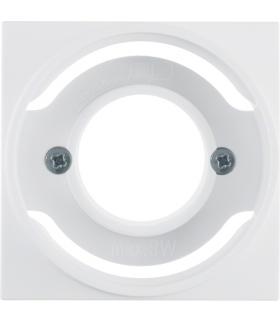 S.1/B.3/B.7 Płytka czołowa do sygnalizatora świetlnego E14, biały Berker 11981909