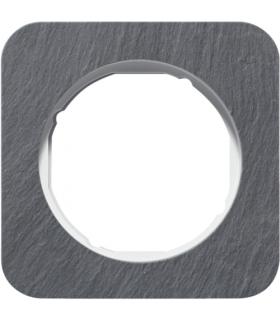 R.1 Ramka 1-krotna, łupek/biały Berker 10112389