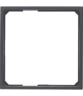 B.x Pierścień adaptacyjny do płytek czołowych 50x50mm, antracyt Berker 11091616