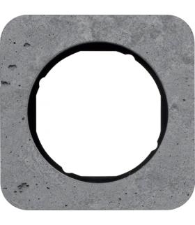 R.1 Ramka 1-krotna, beton/czarny Berker 10112374