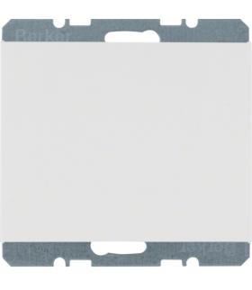 K.1 Zaślepka z elementem centralnym, biały Berker 6710457009