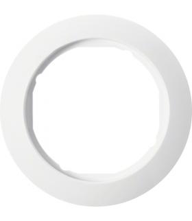 Serie 1930 Ramka pojedyncza do płytek czołowych Ø 58 mm, biały Berker 138209