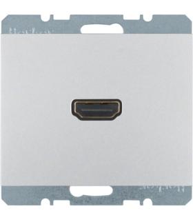 K.5 Gniazdo HDMI z przyłączem 90° alu Berker 3315437003