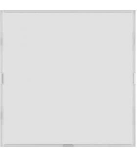 KNX e/s B.x Przycisk 1-kr z p. opis., diod. LED RGB i czuj. temp., biały i krem