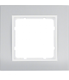 B.3 Ramka 1-krotna, alu/biały Berker 10113904