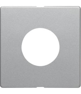 Q.x Płytka czołowa do łącznika i sygnalizatora świetlnego E10, alu aksamit, lakierowany Berker 11246084