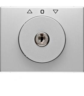 K.5 Płytka czołowa z kluczykiem do łącznika żaluzjowego obrotowego, aluminium Berker 10797303