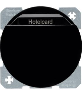 R.1/R.3 Łącznik przekaźnikowy na kartę hotelową, czarny Berker 16402045
