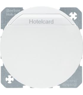 R.1/R.3 Łącznik przekaźnikowy na kartę hotelową, biały Berker 16402089