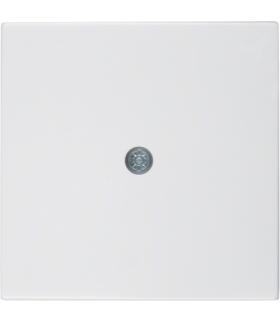 B.x/S.1 Płytka czołowa do przyłączy kablowych, biały, połysk Berker 10198989