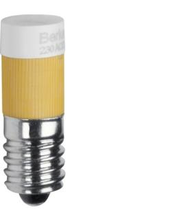 Akcesoria osprzęt Żarówka LED E10, żółty Berker 167802