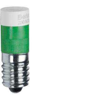 Akcesoria osprzęt Żarówka LED E10, zielony Berker 167803
