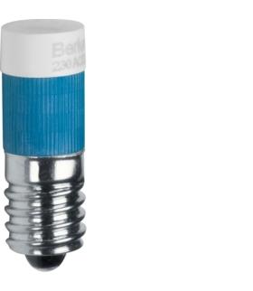 Akcesoria osprzęt Żarówka LED E10, niebieski Berker 167804