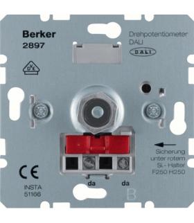 one.platform Potencjometr obrotowy DALI, mechanizm Berker 2897