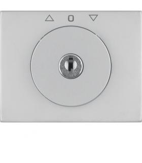 K.5 Płytka czołowa z kluczykiem do łącznika żaluzjowego obrotowego, stal szlachetna nierdzewna Berker 10797204