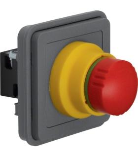 W.1 Moduł wyłącznika bezpieczeństwa, IP55, szary Berker 44713512