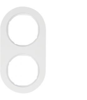 R.classic Ramka 2-krotna, biały, połysk Berker 10122089