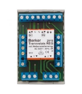 Akcesoria osprzęt Przekaźnik rozdzielający DMS z dodatkowymi wejściami sterującymi, mechanizm, zaciski śrubowe Berker 2919