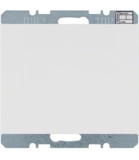 KNX system K.1 Reg. temp. bez ster. ręcznego z interf. uniw., biały