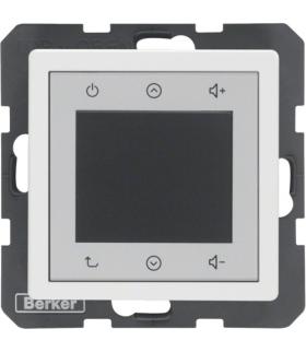 Q.x Radio Touch, biały aksamit Berker 28846089