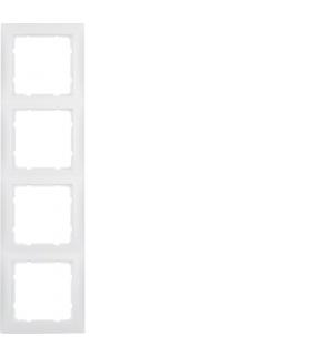 S.1 Ramka 4-krotna, biały, mat Berker 10149909