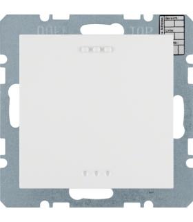 KNX system S.1/B.3/B.7 Reg. temp. bez ster. ręcznego z interf. uniw., biały