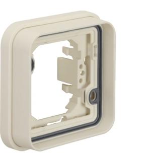 W.1 Ramka 1-kr do montażu podtynkowego, IP55, biały Berker 13283502