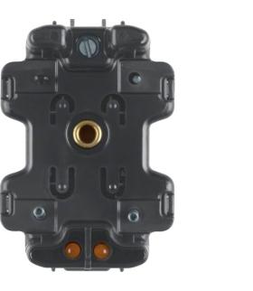 Akcesoria osprzęt Wkładka jarzeniowa LED seryjna ze stykiem neutralnym, mechanizm, czarny Berker 1680