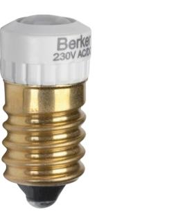 Akcesoria osprzęt Żarówka LED E14, biały Berker 1679
