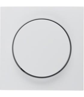 S.1/B.3/B.7 Płytka czołowa z pokrętłem regulacyjnym do ściemniacza obrotowego, biały Berker 11371909