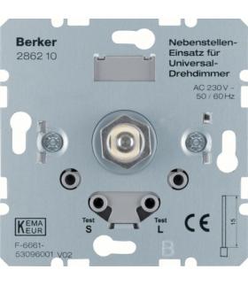 one.platform Rozszerzenie ściemniacza uniwersalnego z płynną regulacją, mechanizm Berker 286210