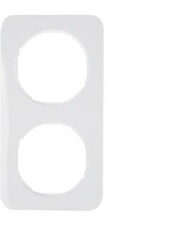 R.1 Ramka 2-krotna, biały, połysk Berker 10122189