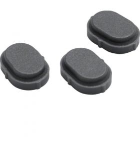 W.1 Zaślepka do otworów wkrętów w adapterze natynkowym Berker 18033500