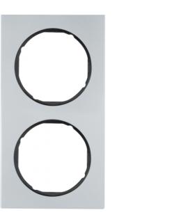 R.3 Ramka 2-krotna, alu/czarny Berker 10122284