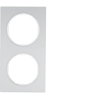 R.3 Ramka 2-krotna, alu/biały Berker 10122274