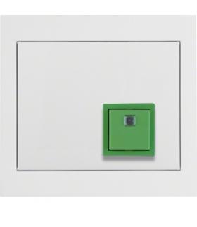 K.1 System przywoławczy Przycisk anulowania z ramką, biały połysk Berker 52017009