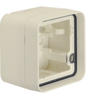 W.1 Adapter natynkowy 1-kr, IP55, biały Berker 6118913502