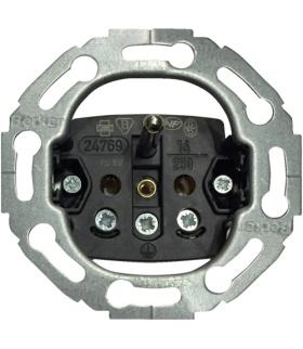 one.platform Mechanizm gniazda z uziemieniem, serie okrągłe, zaciski śrubowe Berker 396765