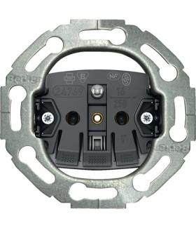 one.platform Mechanizm gniazda z uziemieniem, serie okrągłe, samozaciski Berker 396768