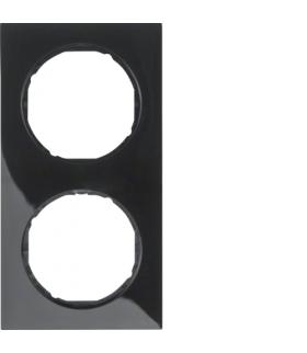 R.3 Ramka 2-krotna, czarny, połysk Berker 10122245