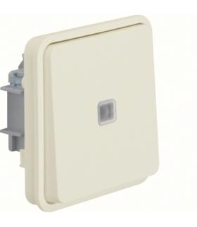 W.1 Moduł łącznika uniwersalnego z podświetleniem, IP55, biały Berker 30863522