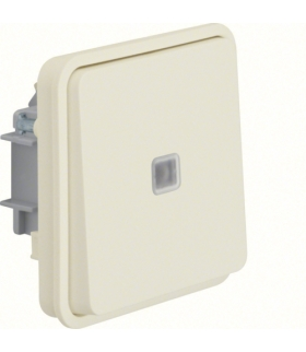 W.1 Moduł łącznika uniwersalnego z podświetleniem kontrolnym, IP55, biały Berker 30863512