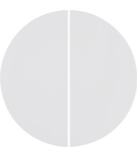 R.X/1930/Glas KNX RF quicklink Przycisk 2-kr biały