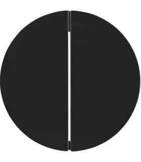 R.X/1930/Glas KNX RF quicklink Przycisk 2-kr,  czarny