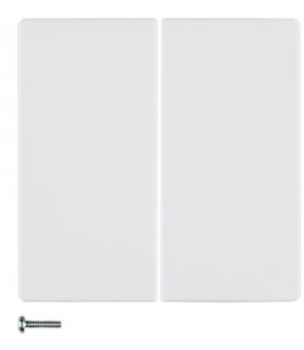 Q.x KNX RF quicklink Przycisk 2-kr biały, aks