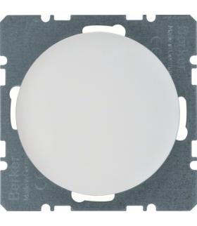 R.1/R.3 Zaślepka z płytką czołową, biały, połysk Berker 10092089