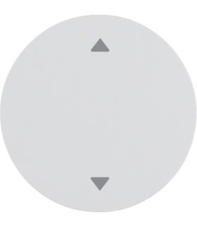 """R.1/R.3 Klawisz z nadrukiem symbolu """"strzałki"""" biały, połysk Berker 16202049"""