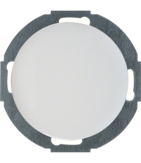 R.classic Zaślepka z płytką czołową, biały, połysk Berker 10092079